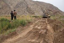 آزادسازی بیش از ۲۵ هزار مترمربع از اراضی بستر رودخانه شاهرود در استان قزوین