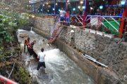 آزادسازی ۲۰۰ متر مربع از بستر رودخانه دربند تهران